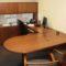 Wood Veneer U-shaped Desk Set