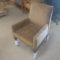 Indiana Furniture, Side Chair, Reception chair. Fully upholstered-New, Wood legs
