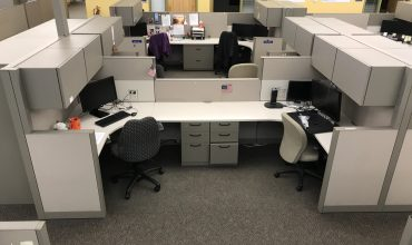 Steelcase Answer 12×5 shared cubicles